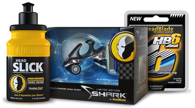 HeadBlade S4 Shark con accessori
